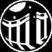 Logo de la collection Passages imaginaires composé d'un portail s'ouvrant sur un clair de lune étoilé.